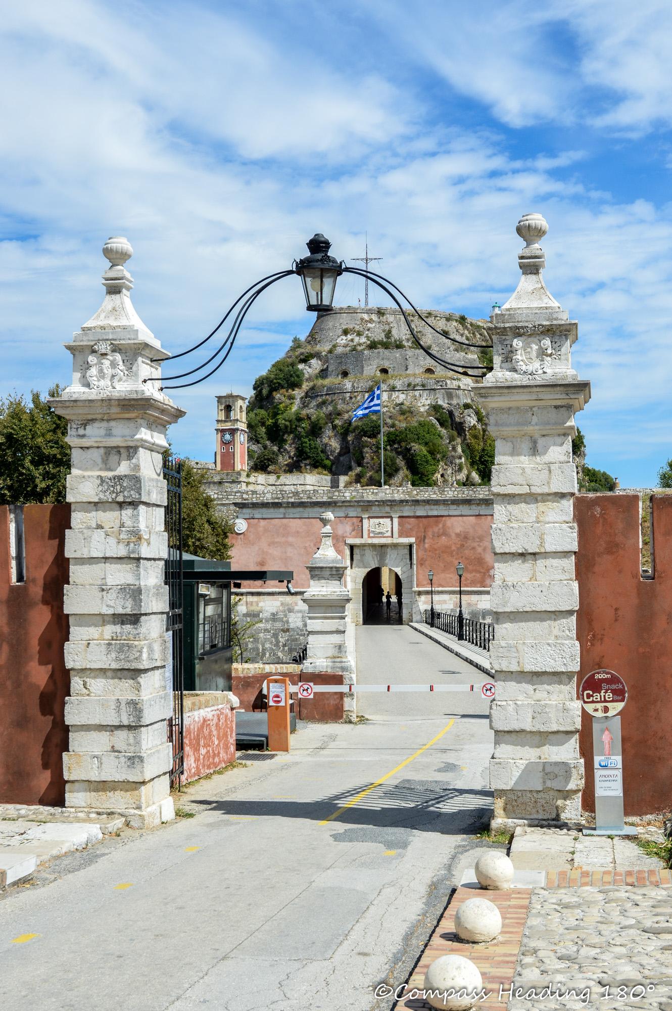 Corfu castle